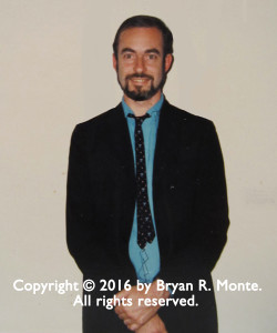 Steve Abbott at No Apologies #1 Reading, Intersection for the Arts, San Francisco, December 1983. Photographer: Bryan R. Monte Copyright © 2016 by Bryan R. Monte. All rights reserved.